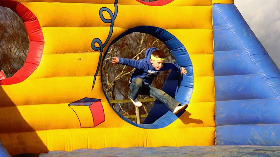 Inflatable Theme Park Falkirk