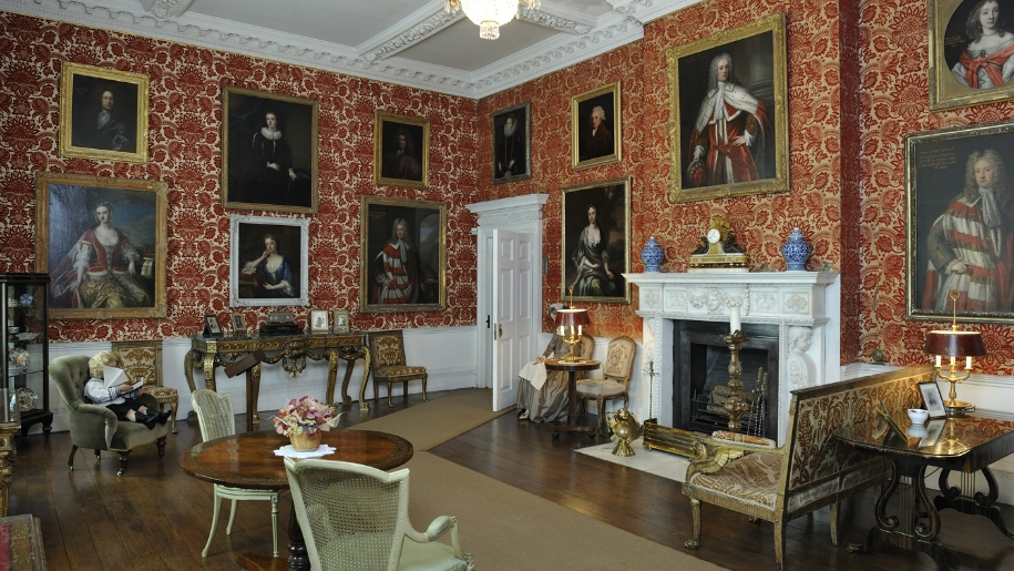 inside Lydiard Park and House