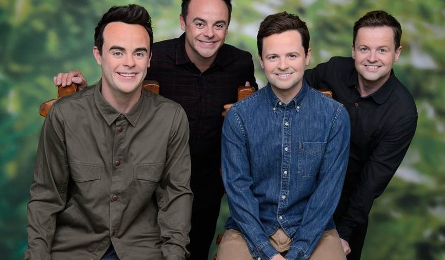 wax figures of ant and dec