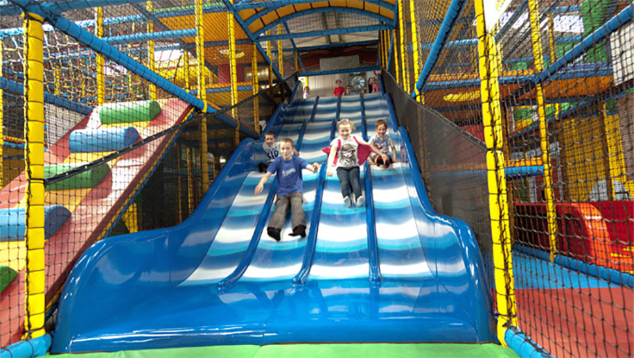soft play slide