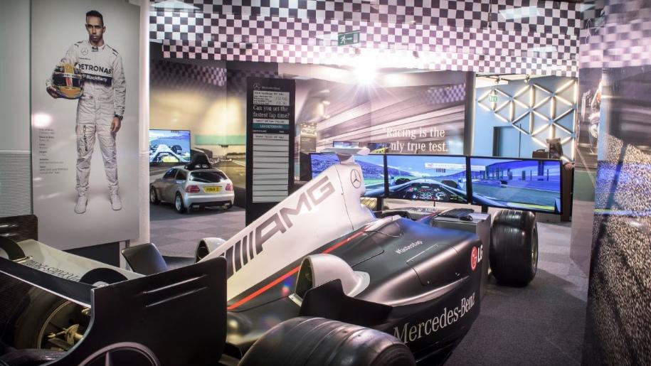 Mercedes Benz World racing car