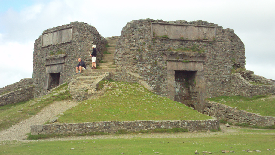 fort on hill