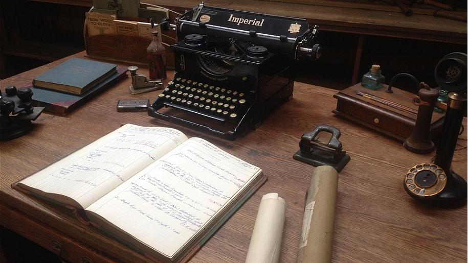 victorian typewriter