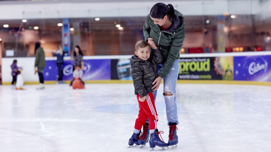 Ice skating in sutton in ashfield