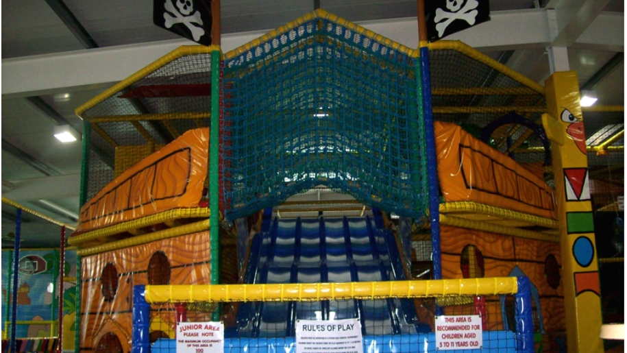 soft play frame