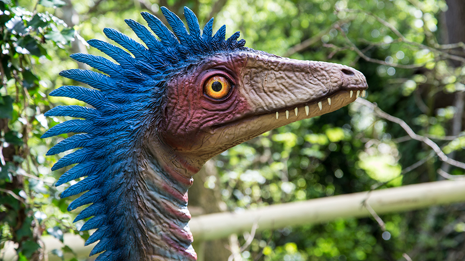 statue of dinosaur