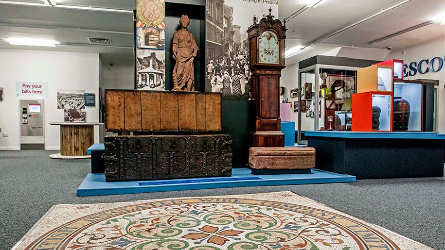 prescot museum exhibit