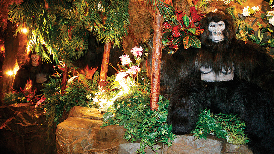 Rainforest Cafe Gorilla