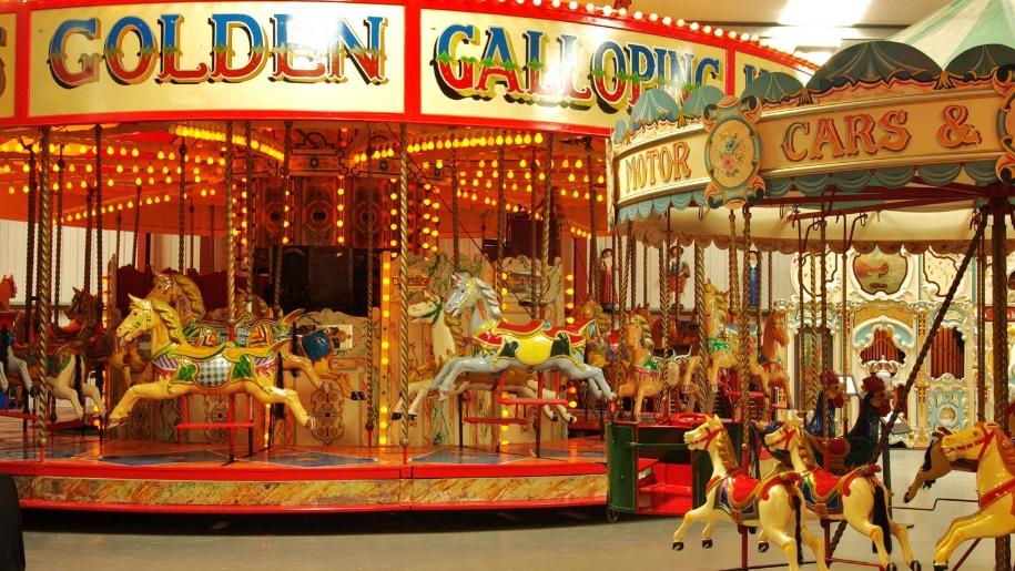 fairground carousels