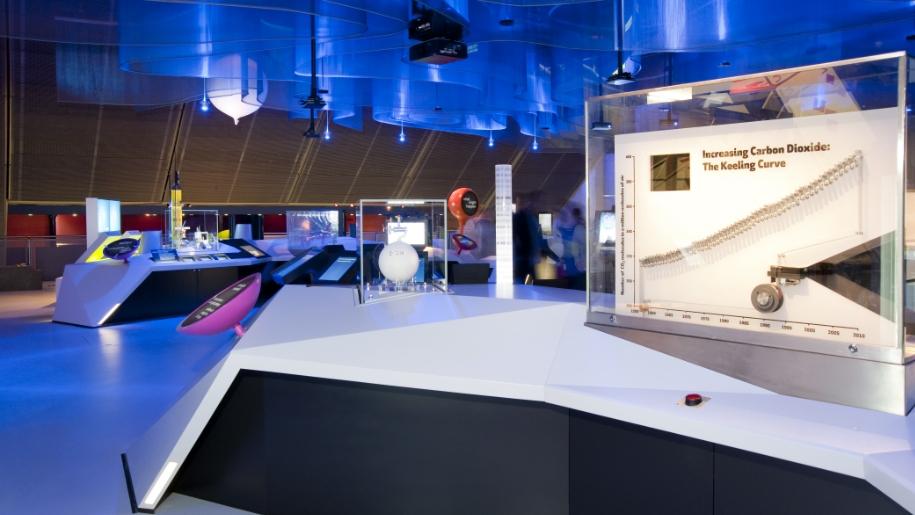 Atmosphere room at Science Museum