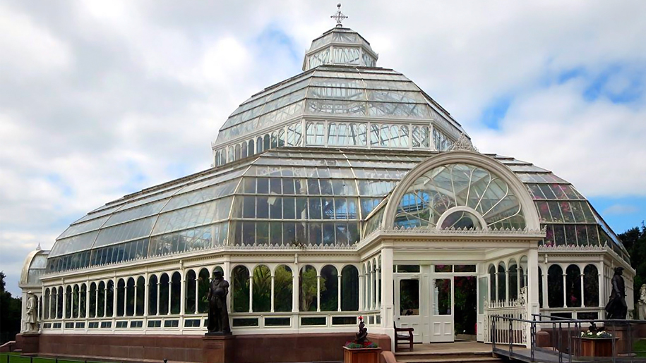 palm house at sefton park