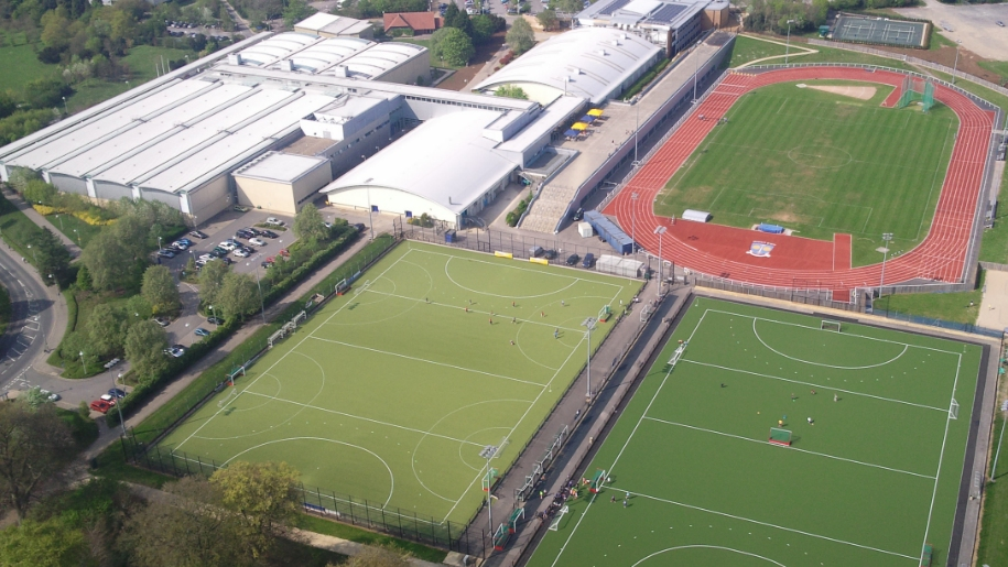sports training village aerial view
