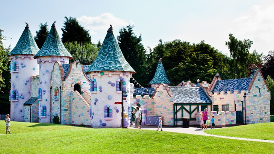 outdoor children's castle