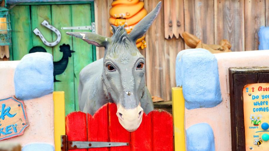 plastic donkey