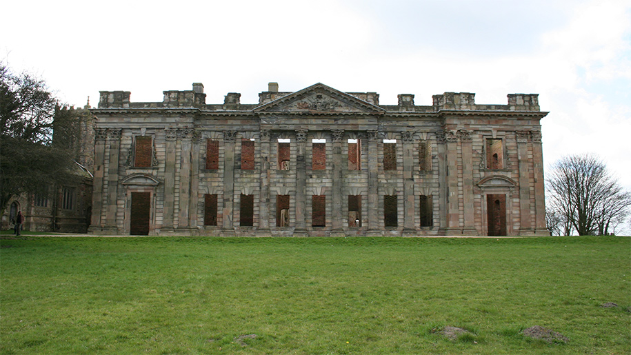 shell of scarsdale hall