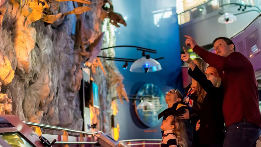 The Deep aquarium