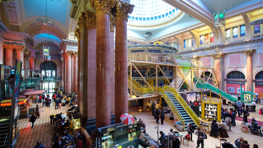 royal exchange theatre interior
