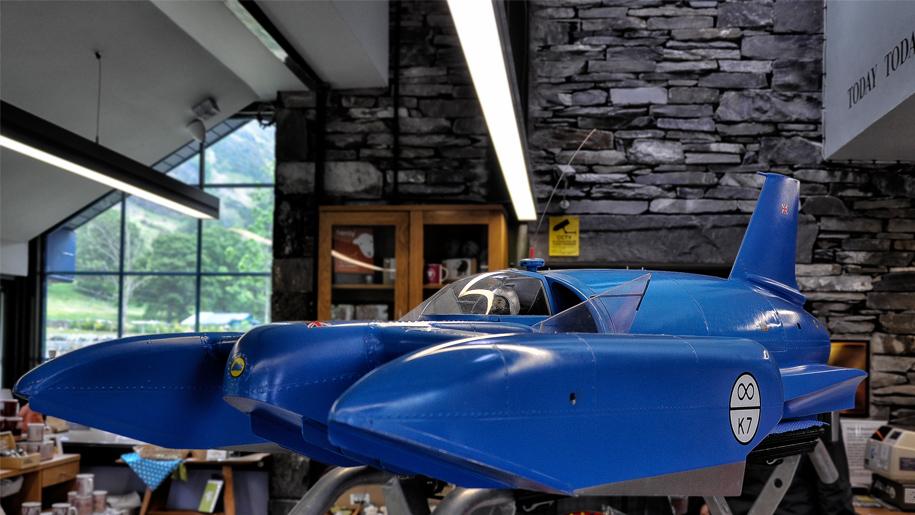 museum exhibit vehicle