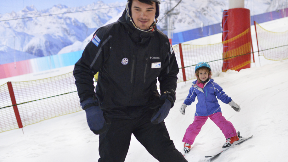 The Snow Centre child skiing