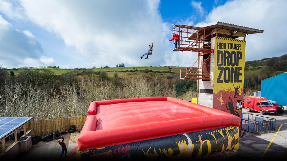 inflatable jump activity