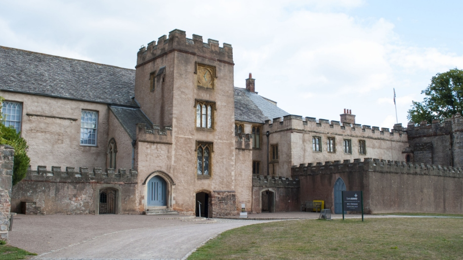 torre abbey entrance