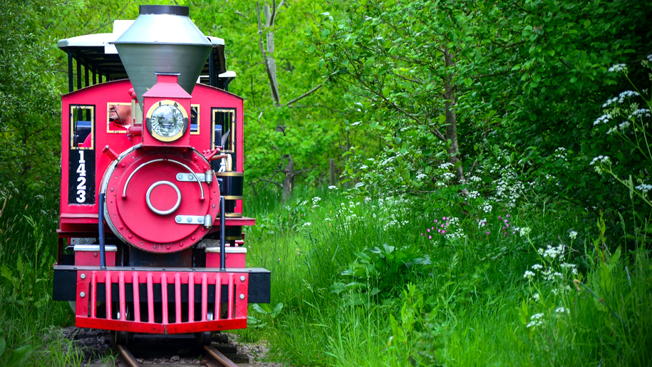 Twinlakes Theme Park train
