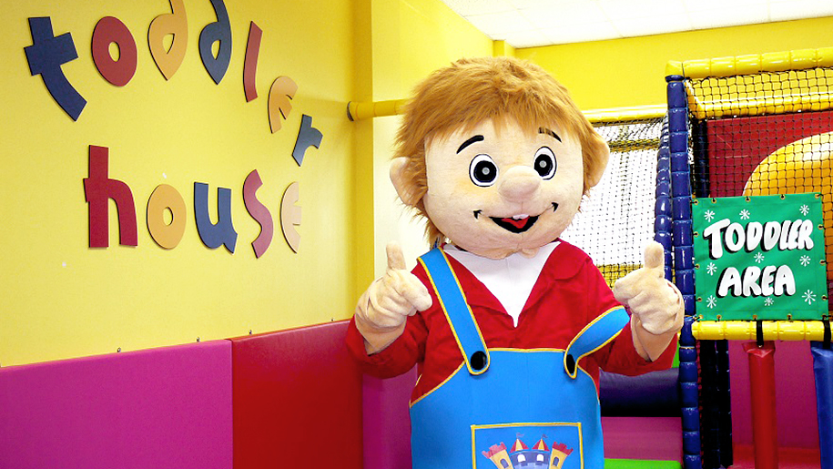 Twinwoods Adventure toddler adventure house mascot