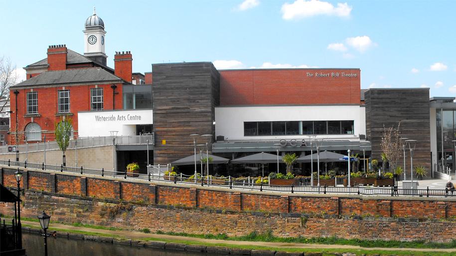 waterside arts centre exterior