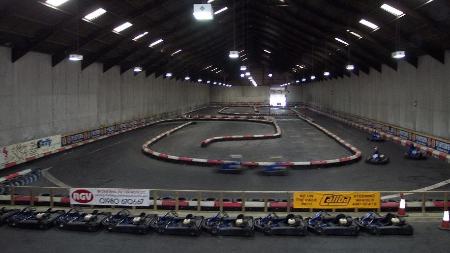 go kart course