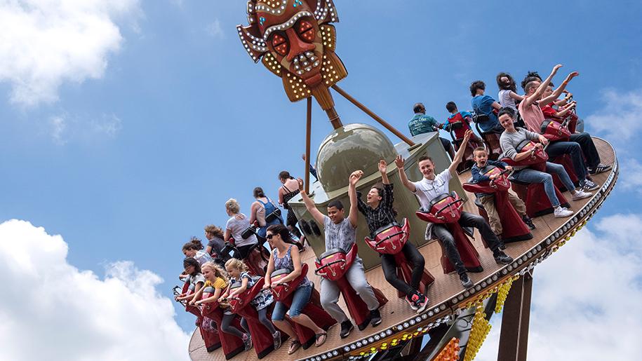 West Midland Safari Park theme ride