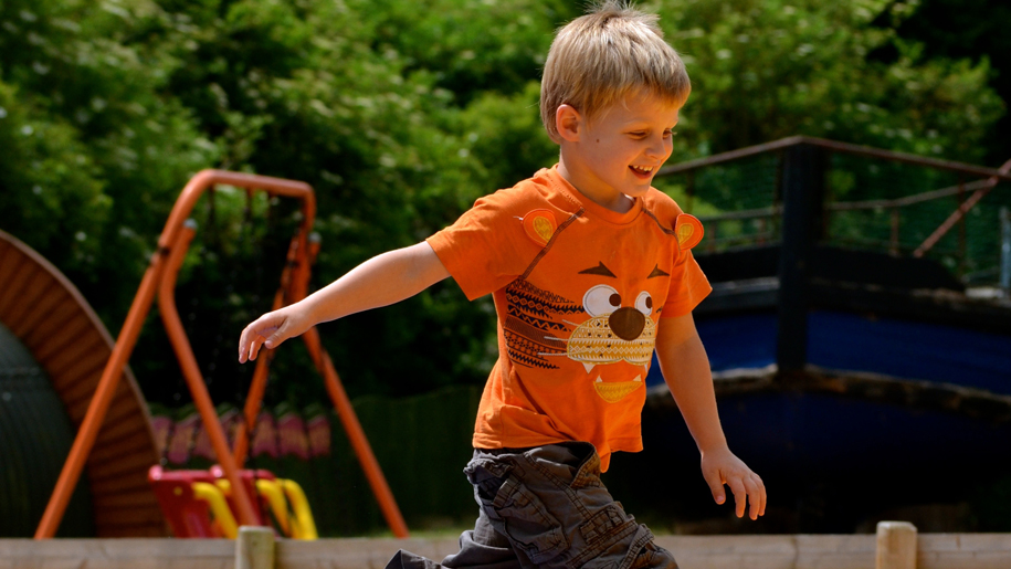 Wheelgate Adventure Park boy playing