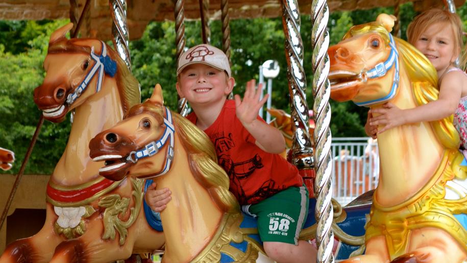 Wheelgate Adventure Park Merry Go Round