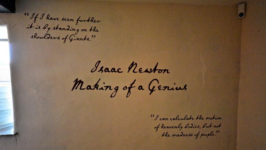 isaac newton manor