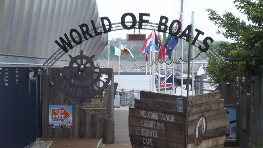 Sign at World of Boats