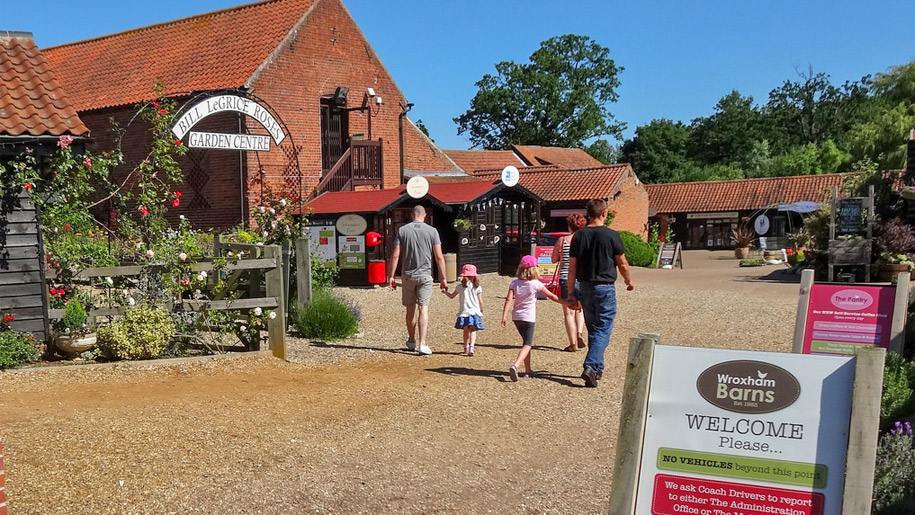 wroxham barns exntrance