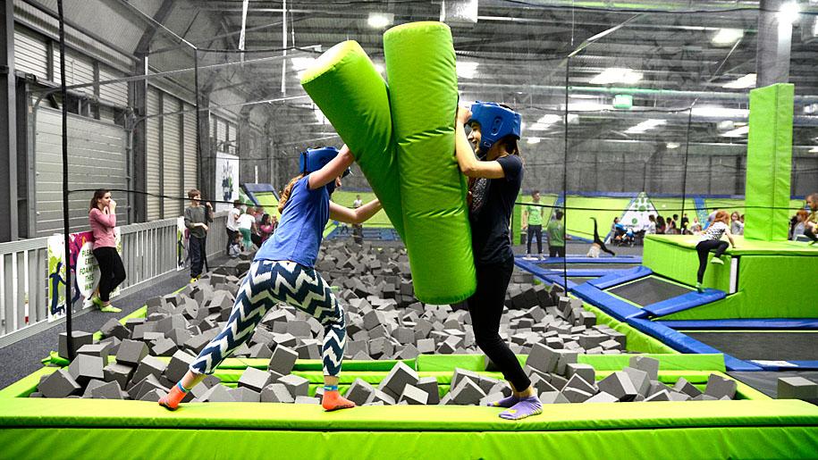 Jump In Trampoline Arena