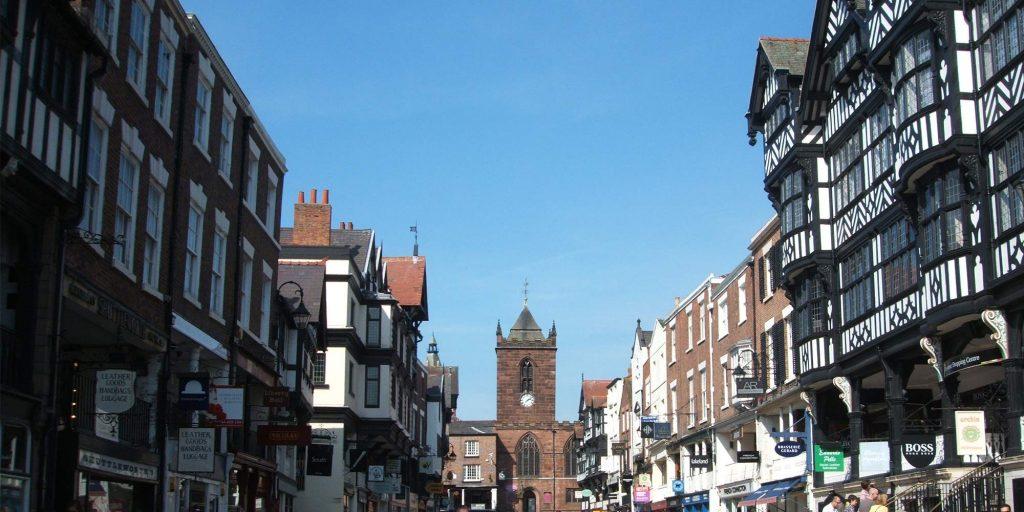 tudor street leading to tower