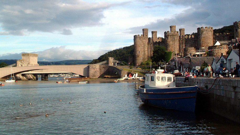 Conwy Castle riverside