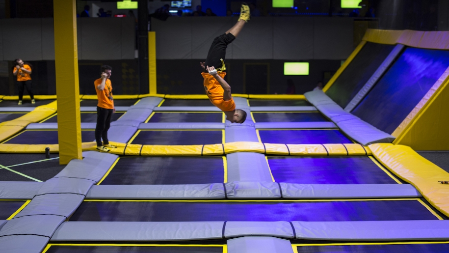 Freedome trampolining