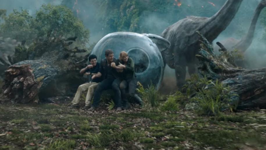 Jurassic World film still