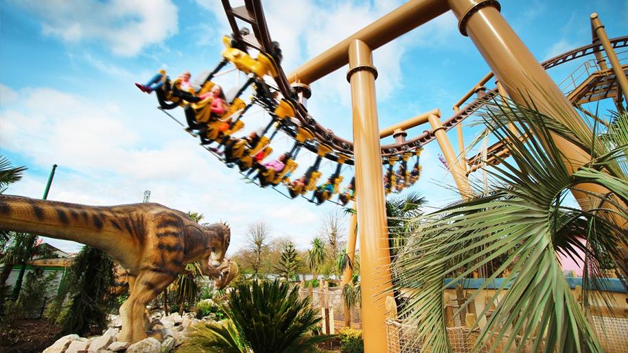 Paultons Park rollercoaster ride