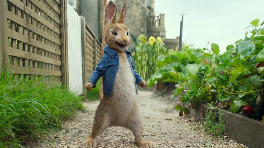 peter rabbit film still