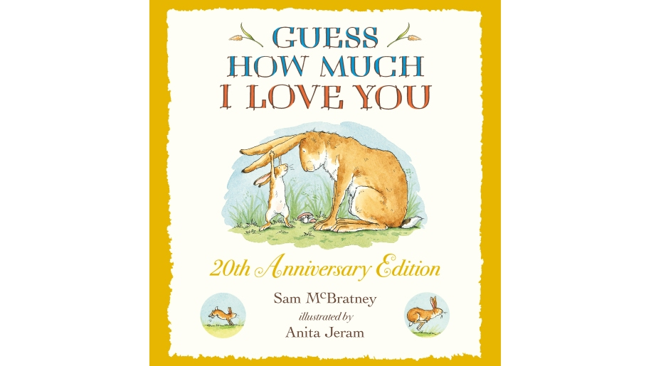 Book cover for Guess How Much I love You