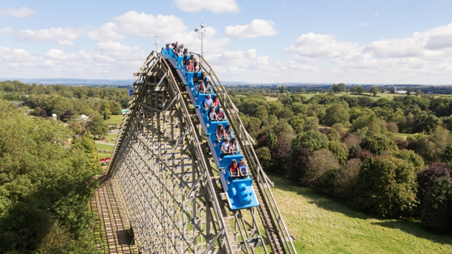 Lightwater Valley rollercoaster