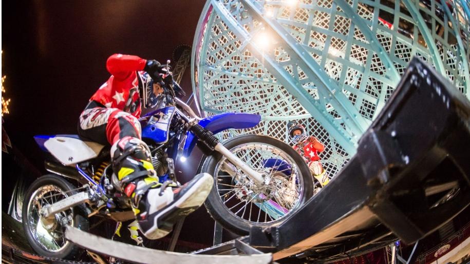 motorbike in circus