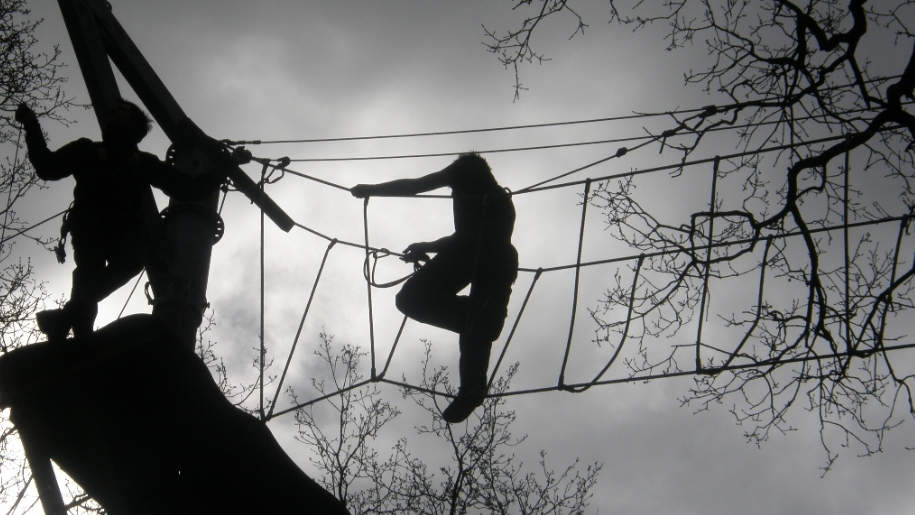 high ropes activity centre
