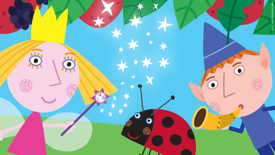 Ben and Holly Little Kingdom drawing