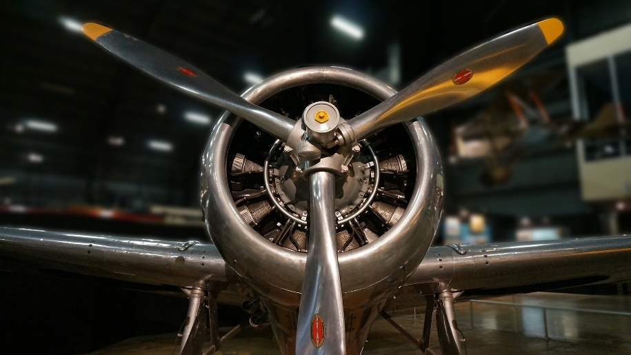vintage plane propeller