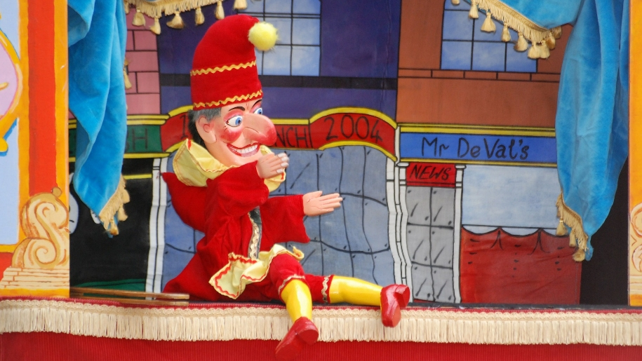 punch and judy puppet