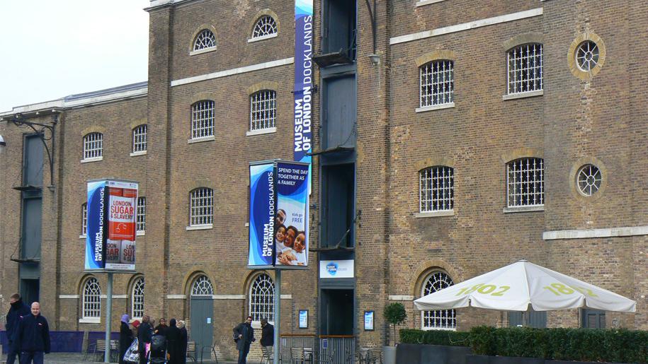 Museum of London Docklands building
